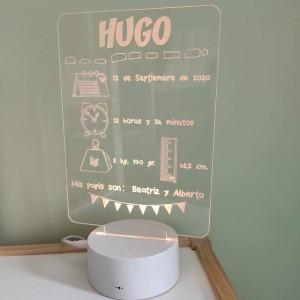 Lámpara personalizada con...