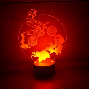 Lámpara motorista de...