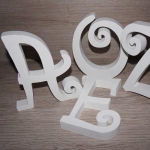 Letras fantasía 15 cm