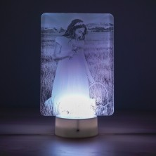 Lámpara personalizada con fotos
