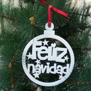 Bola Feliz Navidad