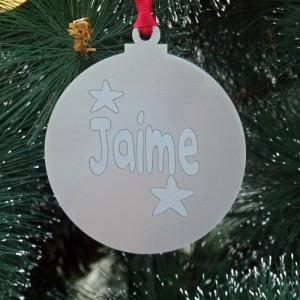 Bola de Navidad satinada...