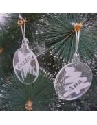 Bolas de Navidad Personalizadas con Nombre - Láser y Más