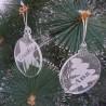 Bolas de Navidad Personalizadas con Nombre
